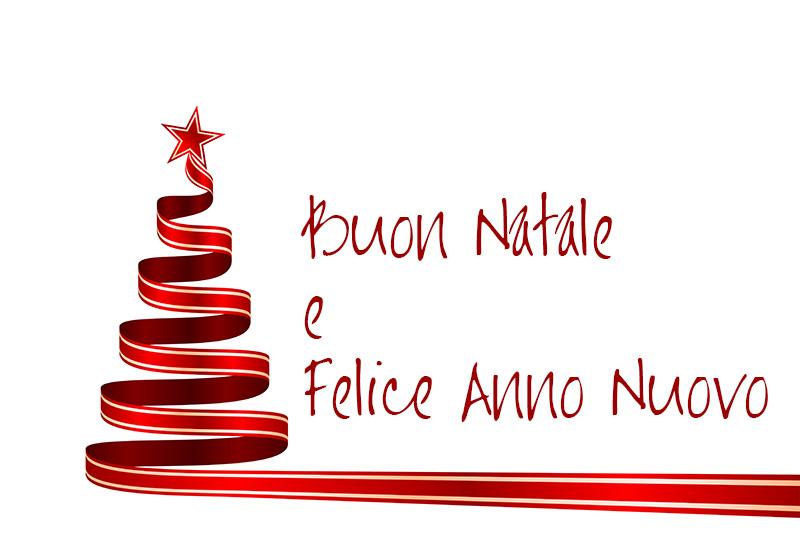 Buone Natale e felice anno nuovo