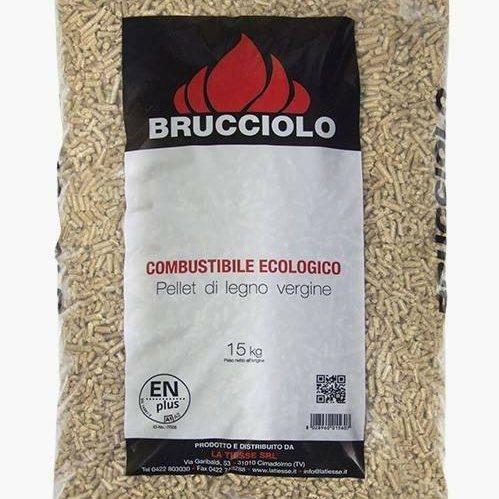 foto sacco pellet nome Brucciolo